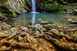 San Fele falls, Potenza, Italy